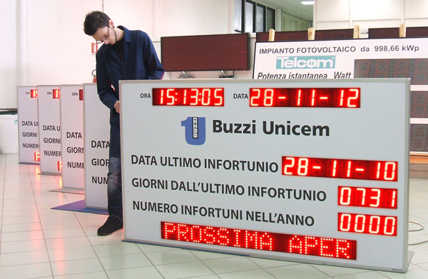 display infortuni Buzzi