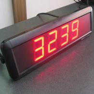 Indicatore numerico a led 4 cifre interfaccia BCD