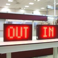 Display giganti IN-OUT a led per industria IP54 per esterno