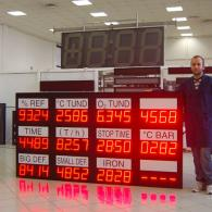 Andon-X automotive factory led display modbus RTU RS485
