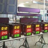 Display per logistica magazzino interfaccia BCD