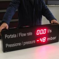 LED takttime board