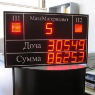 Display Andon-X russian factory Profinet interface, takt time