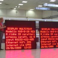 Led display MX8-8-20 HC per PC o PLC a 8 bit per industrie
