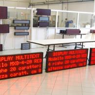 Display a led profinet per uso in linee di produzione e impianti