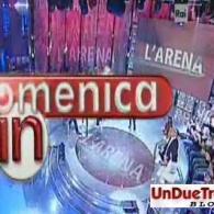 Display a led per programma televisivo L'Arena (Domenica IN) scorrevole