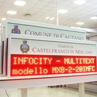 led display for city information