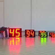 Display numerici Gamma varie grandezze. Produzione Italiana