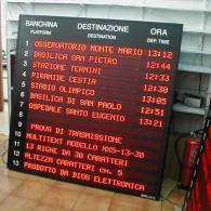 Display a led MX5-13-30 per stazione autobus
