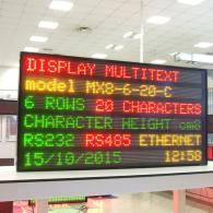 led display tack time data visualization, profinet