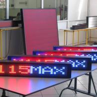 Led display profibus multicolor rosso blu interfaccia PLC 8 bit