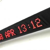 Led display monolinea per parete con messaggi scorrevoli variabili da PC o PLC