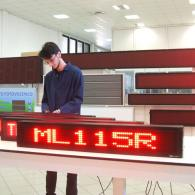 advertising one line led display