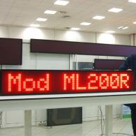 advertising led moving message