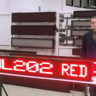 Strisce elettroniche a led grandi 202 cm pilotabili da PC con software