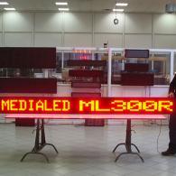 Display per messaggi variabili negozi e centri commerciali. Produzione Italia