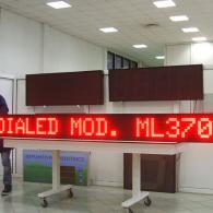 led display for advertising messages