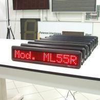 Visualizzatore elettronico a led cm 55 piccolo per tavolo o scrivania