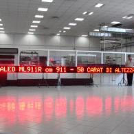 led display for messages and advertising