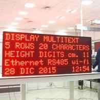 industrial led display profinet PLC Siemens