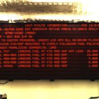 Pannello a led multiriga gigante per aeroporto voli interfaccia ethernet