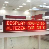 Display a led profinet per linea di produzione industriale per PC o PLC