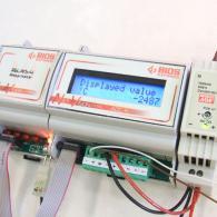 Display modulo analogico Net-Vision ADC-16 per interfaccia analogica corrente o tensione 4-20ma o 0-10V