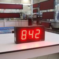Giornale luminoso a 3 cifre a led per dati estrusione alluminio