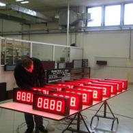 Programmable led display industry 4.0