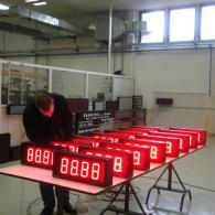 Display led velocità nastro interfaccia analogica 4-20mA