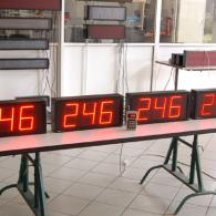 lean manufacturing led display RS485