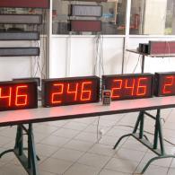 Display per industria e linea di produzione per monitoraggio dati