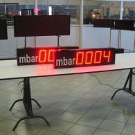 display per pressione mbar interfaccia analogica 0-10V