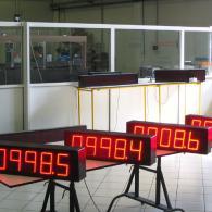 display velocità nastro interfaccia analogica 4-20 mA