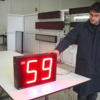 Display led analogico in frequenza - pezzi prodotti minuto