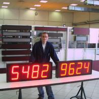 Programmable Frequency Display
