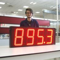 Display a led a 4 cifre VS32-4 BCD per industrie siderurgiche