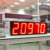 digital large led number board