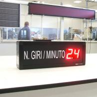 Display a led per per frequenza - giri al minuto