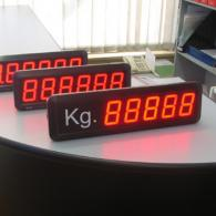 Visualizzatori pesi bilance con analogico in corrente 4-20mA