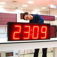 Orologio con interfaccia NTP per sincronismo internet