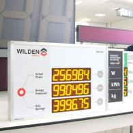 Display a led per energia prodotta da impianto fotovoltaico