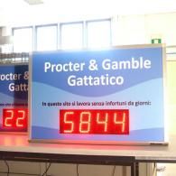 Pannello SD-TBV10-4 giorni ultimo infortunio Procter & Gamble