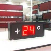 Temperature led display