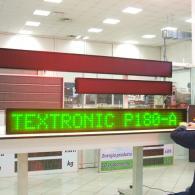 Display a led verde cm 180 con collegamento a PC o telecomando