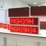 Display per codici logistici e produzione Modbus RTU Slave RS485