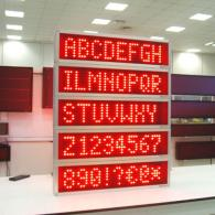 Display a led multiriga con interfaccia ethernet over TCP/IP
