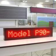 Display a led P90 profinet per monitoraggio allarmi e produzione industriale Italia