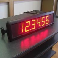 Orologio da scrivania con staffe a 6 cifre ore minuti secondi