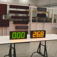 display led per temperatura forno interfaccia analogica 0-10V